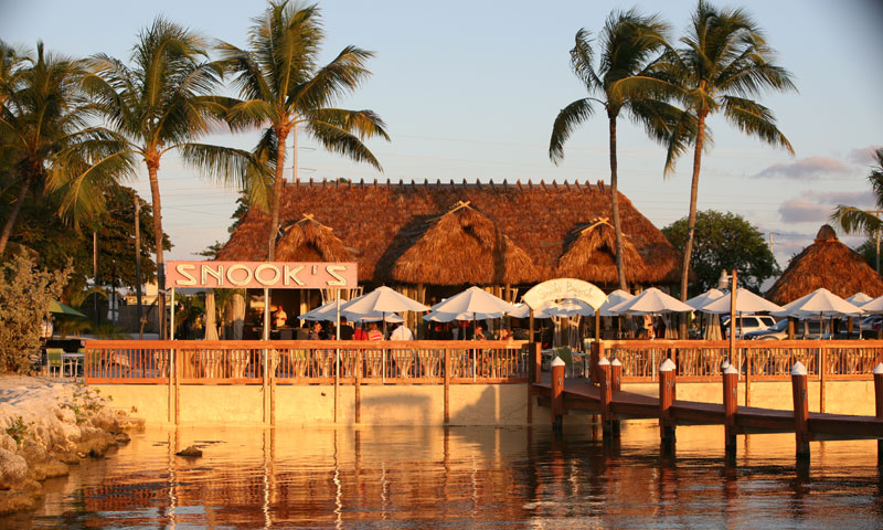 Key Largo Restaurant Weddings Outside Dining Wedding Reception Snooks Bayside